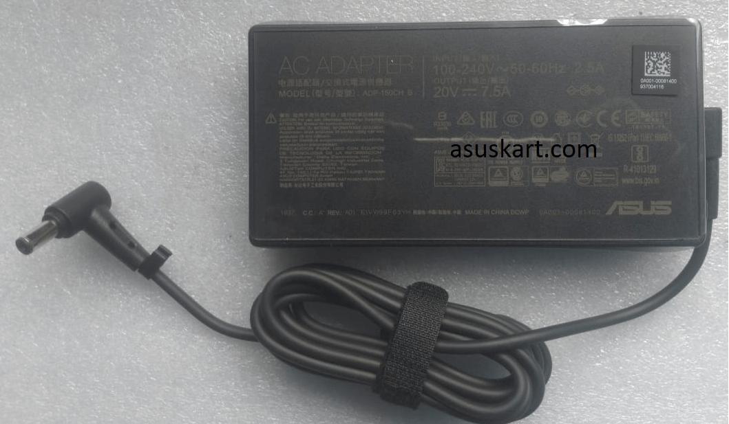 ASUS ADAPTER 150W 20V – 7.5A 150W (6PHI) ADP-150CH B /A18-150P1A for TUF GAMING