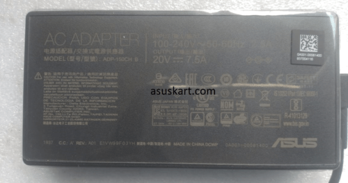 ASUS ADAPTER 150W 20V–7.5A 150W (4.5PHI)A18-150P1A / ADP-150CH B for VivoBook Gaming