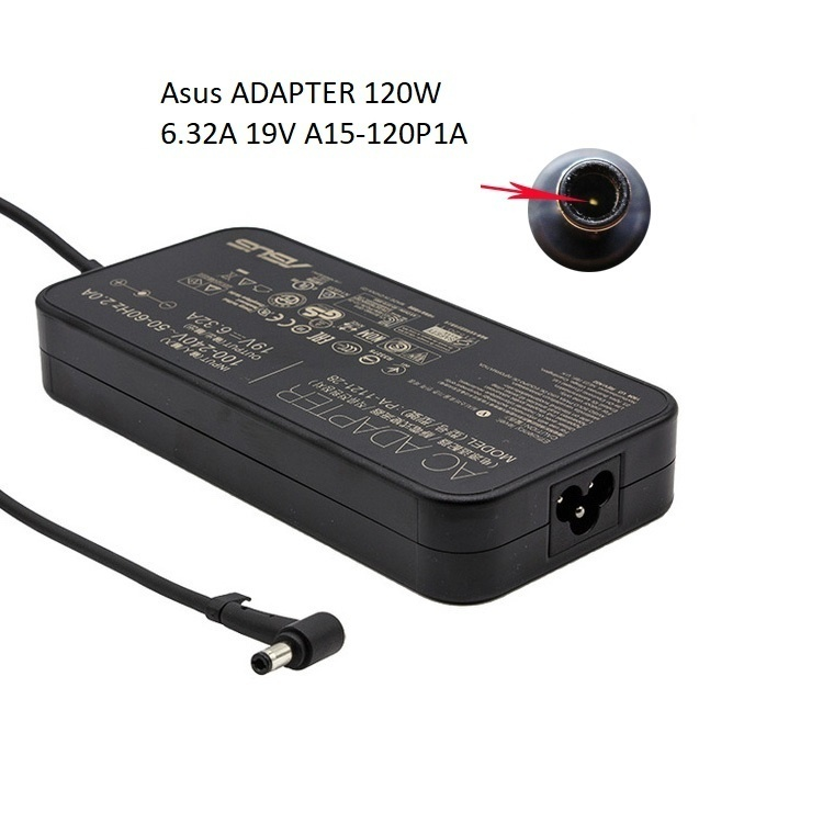 Asus ADAPTER 120W 19V 6.32A A15-120P1A For Zenbook