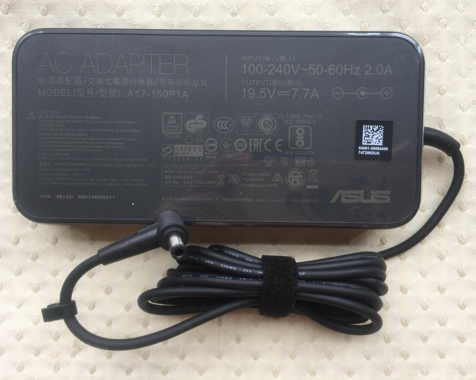 ASUS ADAPTER 150W 19.5v-7.7A 3P(5.5PHI) A17-150P1A for ROG & TUF