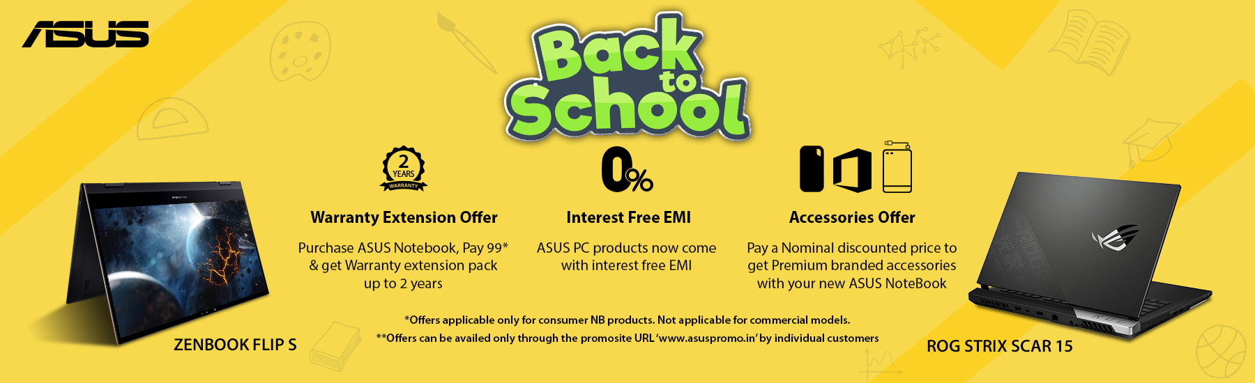 Asus Back to School Offer
